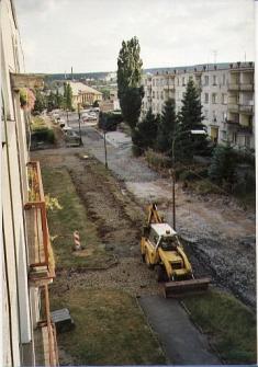 Rekonstrukce ve Školní ulici