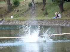 Kaznějovská lávka 9.8.2008