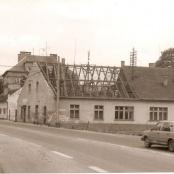 Stará křižovatka - dnes tam stojí restaurace