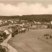 Pohled z r. 1954 - dnešní ulice
