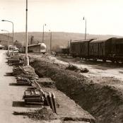 Rekonstrukce u nádraží 1972