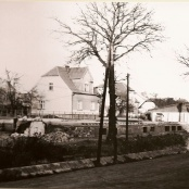 Rekonstrukce u nadraží 1972-1973