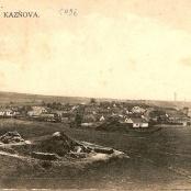 Kaznějov okolo roku 1906 - pohlednice
