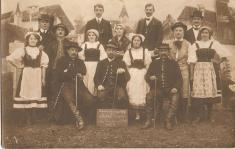 """Ochotnický spolek Kolár vehře """"Vesnický mučedník"""" 26.10.1913"""