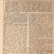Co napsal denník PRAVDA o životním prostředí v Kaznějově dne 14.11.1972